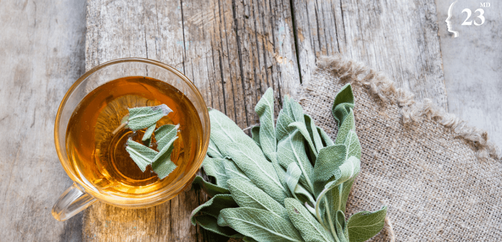 sage tea as a natural remedy for menopause