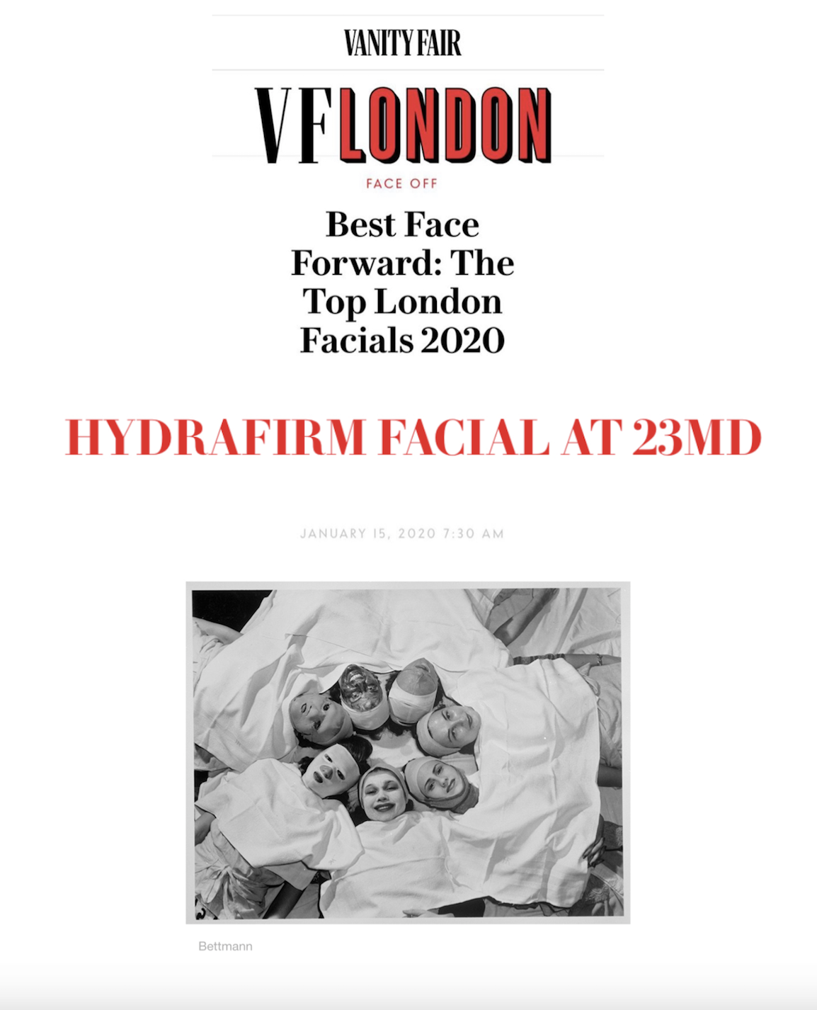 Best London Facial